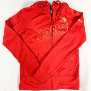 Nike Thermafit San Francisco 49ers Hooded Jacket